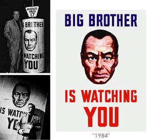 surveillance and big brother in the futuristic society in 1984 a novel by george orwell and in ameri Transcript of 1984, surveillance and lack of individualism 1984, a dystopian novel by george orwell describes a totalitarian government under the control of big brother.